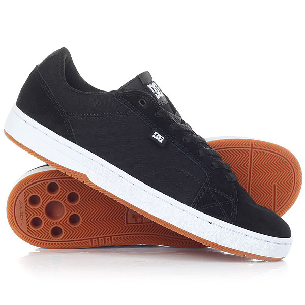 Кеды кроссовки DC Astor M Black/White/Gum dc shoes кеды dc council black cream 8 5