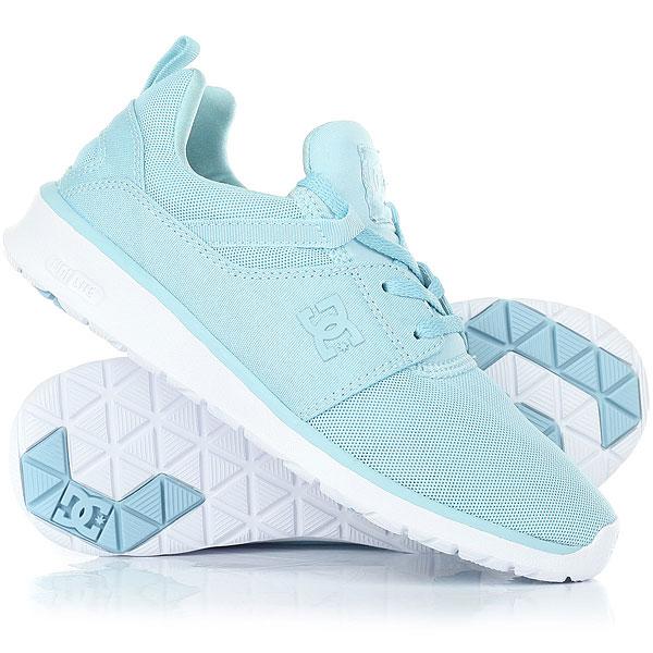 Кроссовки женские DC Heathrow Light Blue dc shoes кеды dc heathrow 8