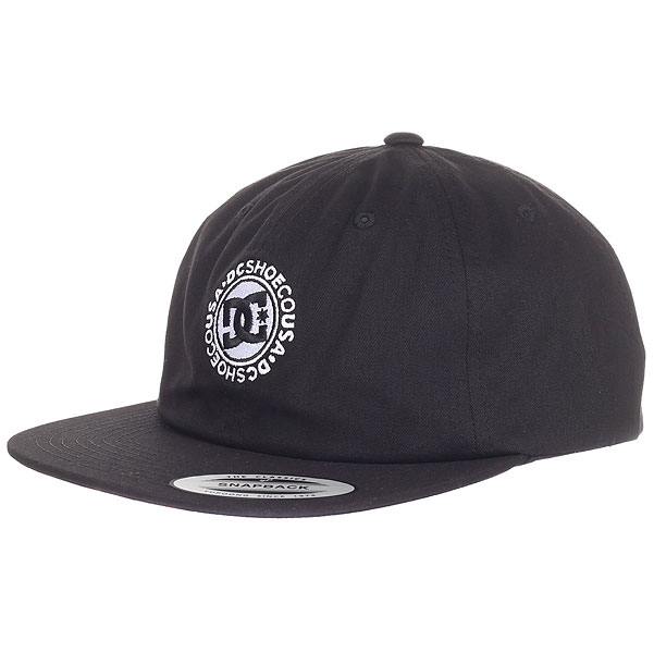 купить Бейсболка с прямым козырьком DC Core Twill Cap Black дешево