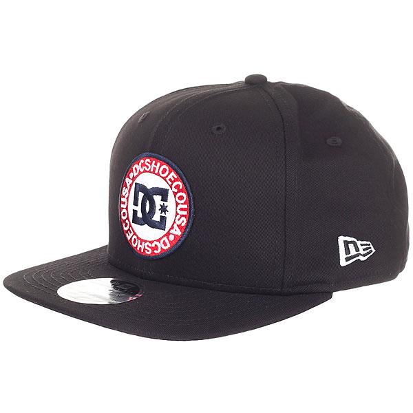 Бейсболка с прямым козырьком DC Speedeater Black бейсболка с прямым козырьком dc slam city sb black