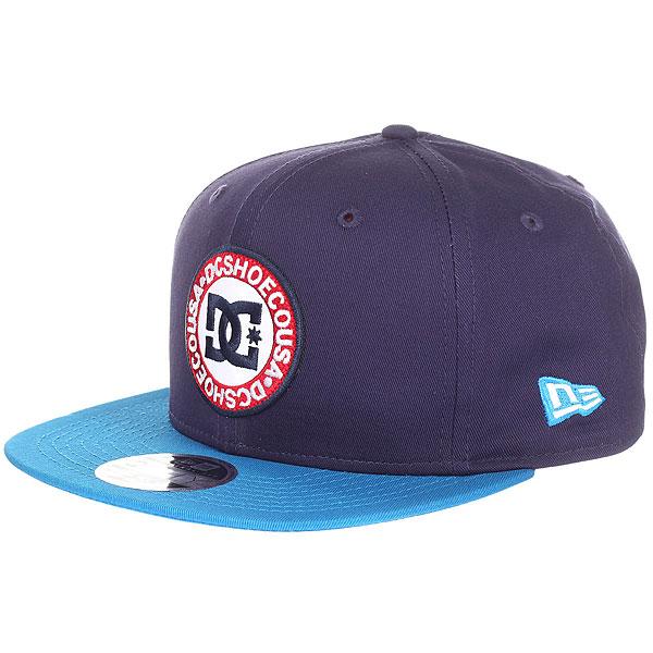Бейсболка с прямым козырьком DC Speedeater Sodalite Blue dc shoes футболка dc wanderer blue iris