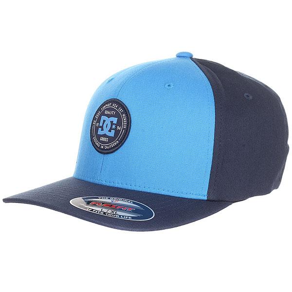 Бейсболка классическая DC Curve Breaker Campunula<br><br>Цвет: Темно-синий<br>Тип: Бейсболка классическая<br>Возраст: Взрослый