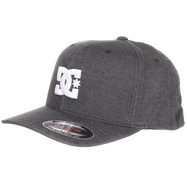 Бейсболка классическая DC Capstar Tx Black бейсболка dc shoes dc shoes dc329cmsxa78