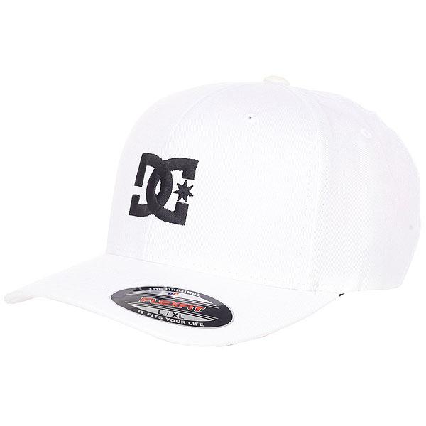 Бейсболка классическая DC Cap Star 2 White/Black<br><br>Цвет: белый<br>Тип: Бейсболка классическая<br>Возраст: Взрослый