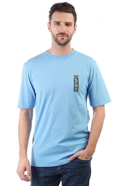 Футболка Quiksilver Gmtdyeframersup Silver Lake Blue<br><br>Цвет: голубой<br>Тип: Футболка<br>Возраст: Взрослый<br>Пол: Мужской