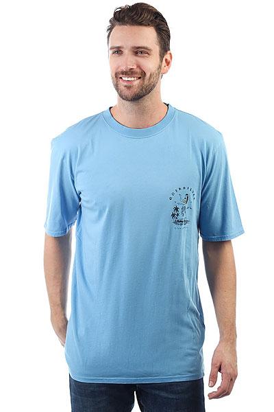 Футболка Quiksilver Gmtdyecurvelove Silver Lake Blue<br><br>Цвет: голубой<br>Тип: Футболка<br>Возраст: Взрослый<br>Пол: Мужской