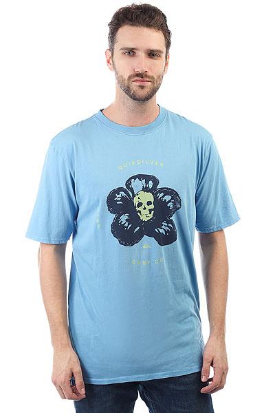 Футболка Quiksilver Gmtdyecosmichea Silver Lake Blue<br><br>Цвет: голубой<br>Тип: Футболка<br>Возраст: Взрослый<br>Пол: Мужской