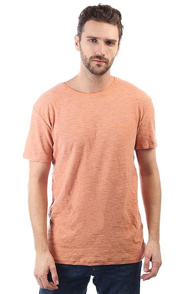 Футболка Quiksilver Kentin Cadmiun Orange Kenti<br><br>Цвет: оранжевый<br>Тип: Футболка<br>Возраст: Взрослый<br>Пол: Мужской