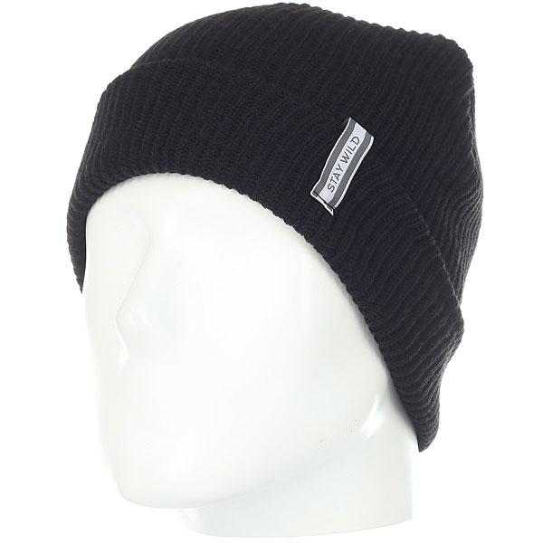 Шапка носок Animals Daily Black футболка brubeck wool merino l black ls10510 ls11920 мужская
