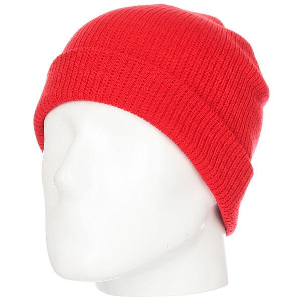 Шапка носок WearColour Rib Beanie Red<br><br>Цвет: красный<br>Тип: Шапка носок<br>Возраст: Взрослый<br>Пол: Мужской