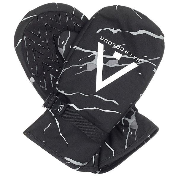 Варежки сноубордические WearColour Clwr Black Marble<br><br>Цвет: черный,белый<br>Тип: Варежки сноубордические<br>Возраст: Взрослый<br>Пол: Мужской