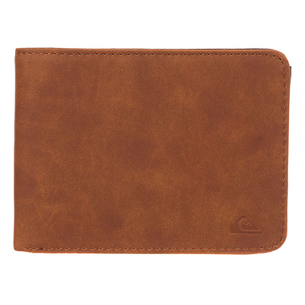 Кошелек Quiksilver Slimvintage Tan Leather балдахины