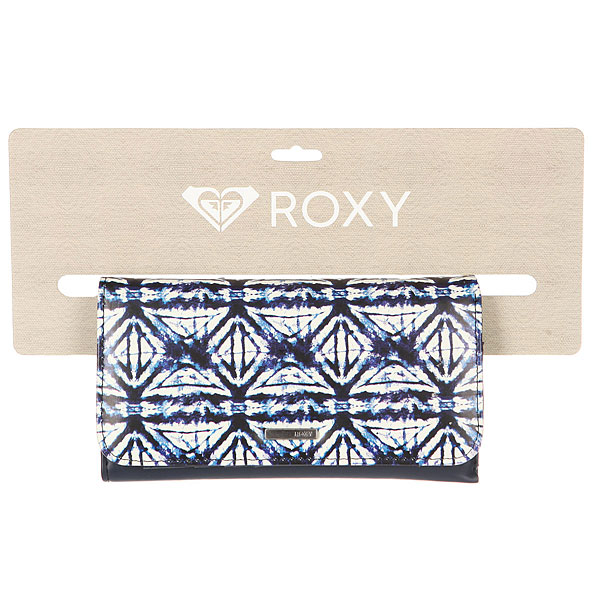 Кошелек женский Roxy My Long Eyes Dress Blues Geometri