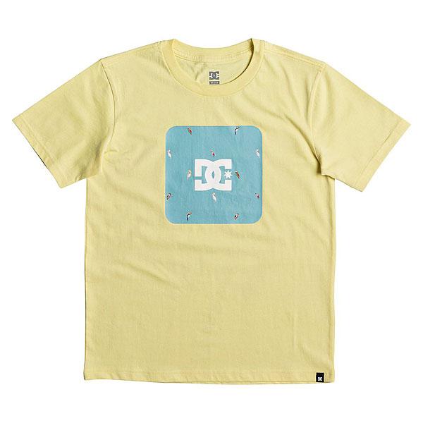 Футболка детская DC Shuffle Face Lemon Meringue<br><br>Цвет: желтый<br>Тип: Футболка<br>Возраст: Детский