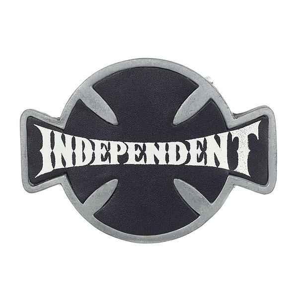 Пряжка Independent Western Front Silver<br><br>Цвет: серый,черный<br>Тип: Пряжка<br>Возраст: Взрослый<br>Пол: Мужской