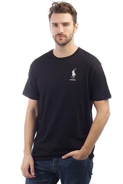 Футболка Foundation Polo Reaper Black<br><br>Цвет: черный<br>Тип: Футболка<br>Возраст: Взрослый<br>Пол: Мужской