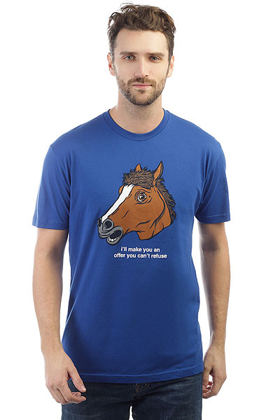 Футболка Enjoi Horse Head Premium Royal футболка enjoi lifesaver premium royal