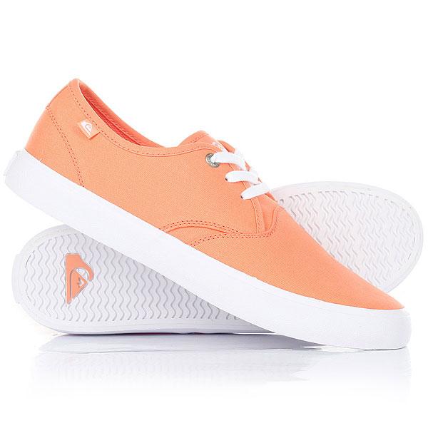 Кеды кроссовки низкие Quiksilver Shorebreak Orange/Black кеды кроссовки низкие quiksilver shorebreak delu grey black white