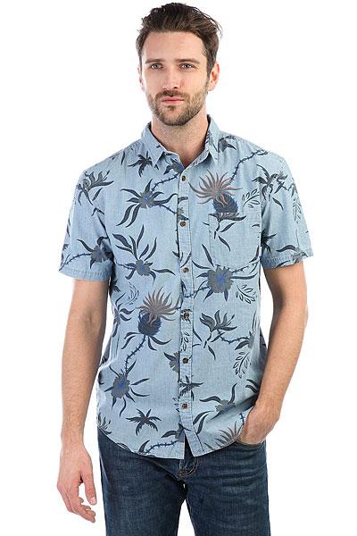 Рубашка Quiksilver Shakkamate Blue Used Shakka Mat<br><br>Цвет: синий<br>Тип: Рубашка<br>Возраст: Взрослый<br>Пол: Мужской