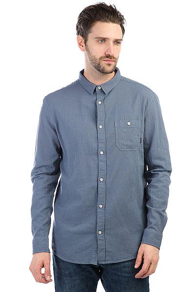 Рубашка Quiksilver Newtimeboxls Vintage Indigo<br><br>Цвет: синий<br>Тип: Рубашка<br>Возраст: Взрослый<br>Пол: Мужской