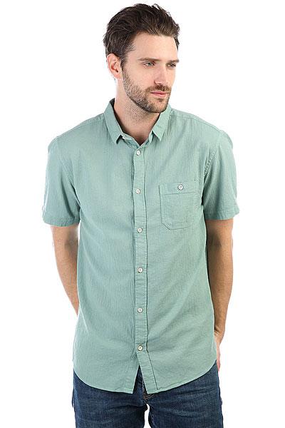 Рубашка Quiksilver Newtimeboxss Trellis<br><br>Цвет: зеленый<br>Тип: Рубашка<br>Возраст: Взрослый<br>Пол: Мужской