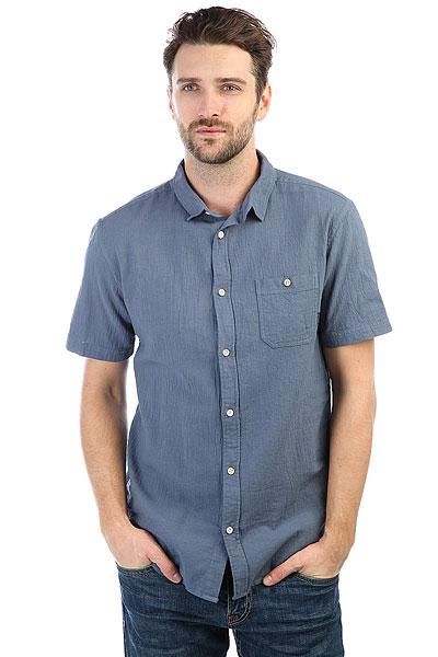 Рубашка Quiksilver Newtimeboxss Vintage Indigo<br><br>Цвет: синий<br>Тип: Рубашка<br>Возраст: Взрослый<br>Пол: Мужской