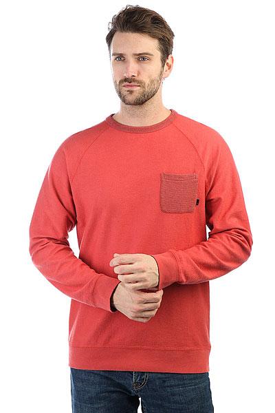 Лонгслив Quiksilver Baaocrew Mineral Red<br><br>Цвет: красный<br>Тип: Лонгслив<br>Возраст: Взрослый<br>Пол: Мужской