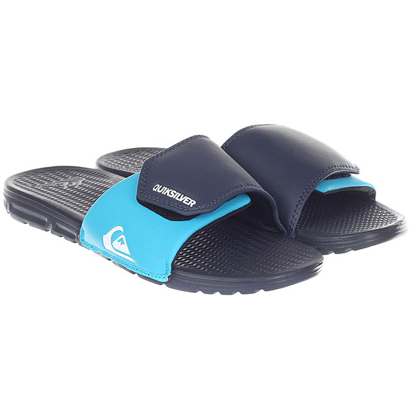 Шлепанцы Quiksilver Shoreline Adjus Blue/Black