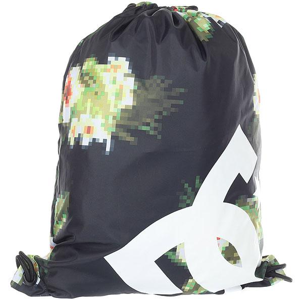 Мешок DC Shoes Cinched Dark Indigo HibygardКомпактный городской рюкзак с объемным внутренним отделением. Не занимает много места и может использоваться в качестве запасногопространства в дополнение к основному рюкзаку. Характеристики:Объемное основное отделение. Маленький внутренний карман на молнии. Затяжка на шнурках. Логотип DC.<br><br>Цвет: черный,мультиколор<br>Тип: Мешок<br>Возраст: Взрослый<br>Пол: Мужской