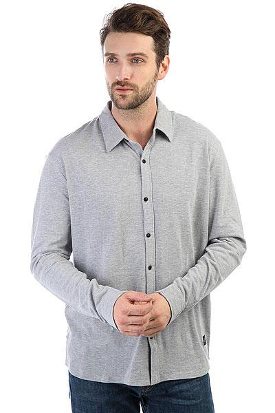 Рубашка Quiksilver Longeffect Light Grey Heather футболка quiksilver baysicpocket light grey heather
