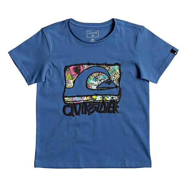 Футболка детская Quiksilver Wemi Boy Bright Cobalt