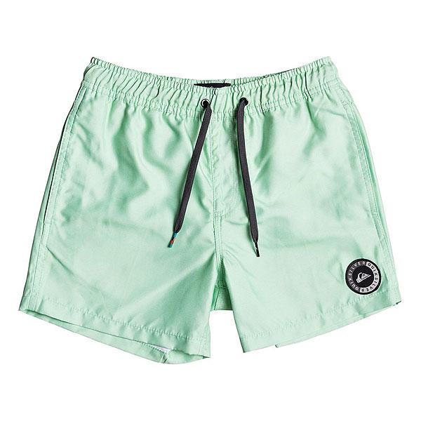 Шорты пляжные детские Quiksilver Everydayvlyth13 Green Ash шорты пляжные детские quiksilver hightechyth16 real teal
