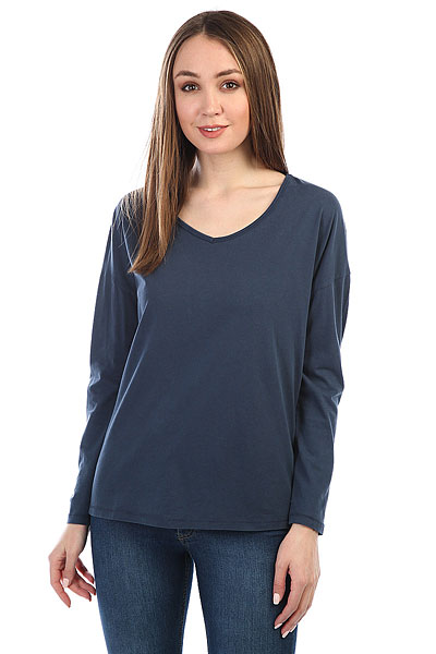 Лонгслив женский Billabong Essential Deep Indigo