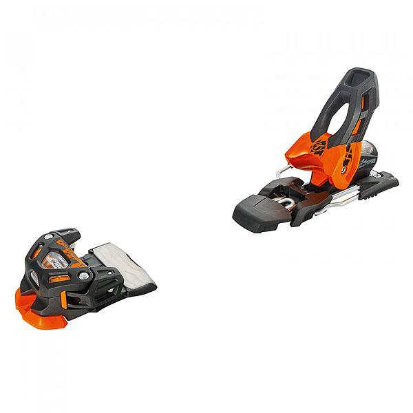 Крепления для лыж TYROLIA Attack 11 Без Скистопа Solid Black/Fl. Orange<br><br>Цвет: оранжевый<br>Тип: Крепления для лыж<br>Возраст: Взрослый<br>Пол: Мужской