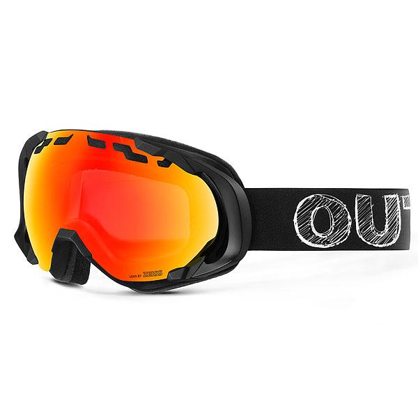 Маска для сноуборда OUT OF Edge Blackboard(red Mci)<br><br>Цвет: черный<br>Тип: Маска для сноуборда<br>Возраст: Взрослый<br>Пол: Мужской