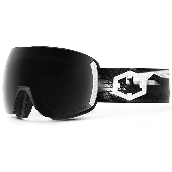 Маска для сноуборда OUT OF Earth + Доп Линза Skate (Smoke)