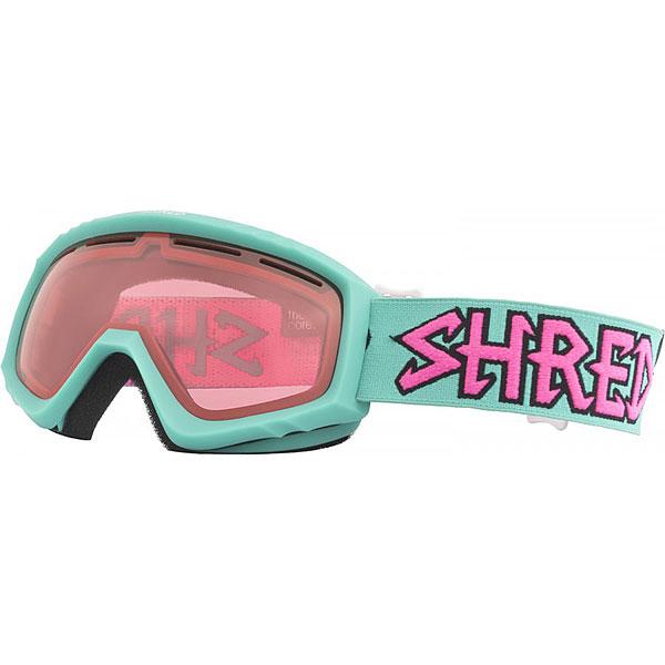 Маска для сноуборда Shred Mini Air Mint Teal