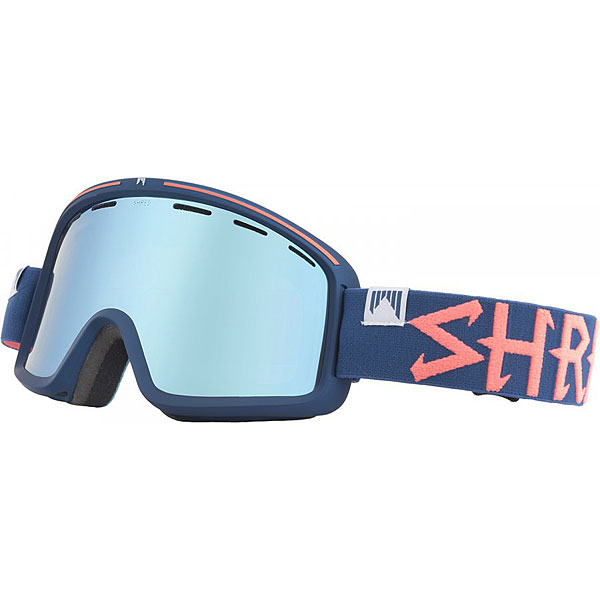 Маска для сноуборда Shred Monocle Grab Navy Blue