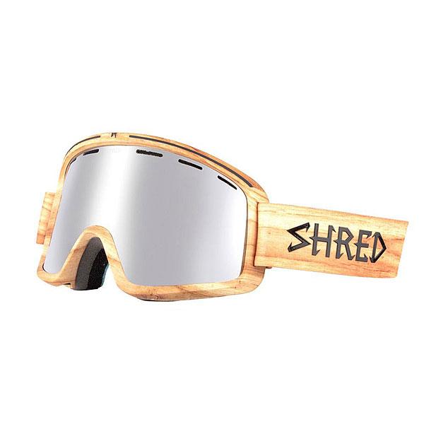 Маска для сноуборда Shred Monocle Woody<br><br>Цвет: мультиколор<br>Тип: Маска для сноуборда<br>Возраст: Взрослый<br>Пол: Мужской