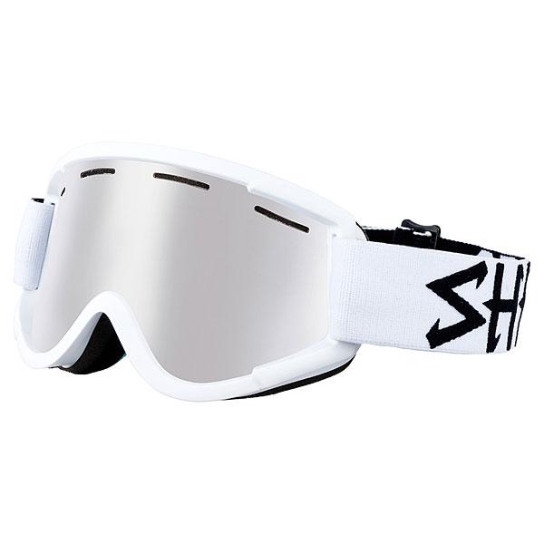 Маска для сноуборда Shred Nastify Bleach Cbl/Plasma (nodistortion) White<br><br>Цвет: белый<br>Тип: Маска для сноуборда<br>Возраст: Взрослый<br>Пол: Мужской