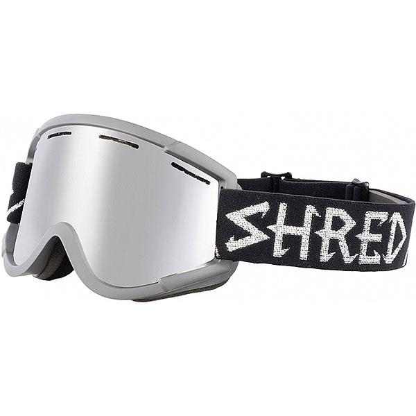 Маска для сноуборда Shred Nastify Moonscape Platinum Dark Black<br><br>Цвет: черный<br>Тип: Маска для сноуборда<br>Возраст: Взрослый<br>Пол: Мужской