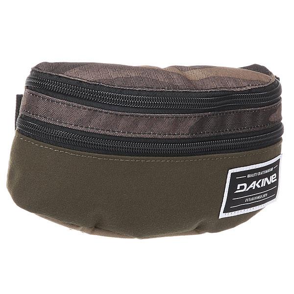 Сумка поясная Dakine Classic Hip Pack Field Camo сумка поясная dakine classic hip 0 7l pack kava kav