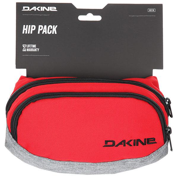 Сумка поясная Dakine Hip Pack Red