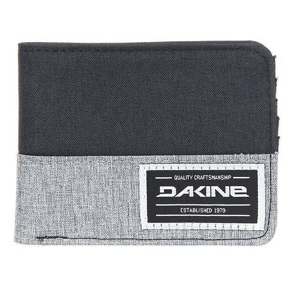 Кошелек Dakine Talus Wallet Tabor<br><br>Цвет: черный,серый<br>Тип: Кошелек<br>Возраст: Взрослый
