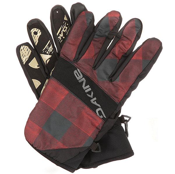 Перчатки сноубордические Dakine Crossfire Glove Red Check<br><br>Цвет: черный,бордовый<br>Тип: Перчатки сноубордические<br>Возраст: Взрослый<br>Пол: Мужской