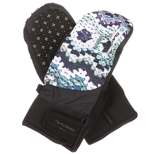 Варежки сноубордические женские Dakine Electra Mitt Crochet варежки женские roxy victoria mitt hawaian ocean