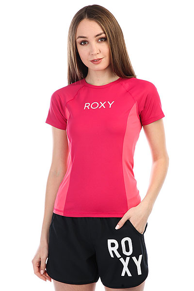 Гидрофутболка женская Roxy Onmyboard Ss Co Vivacious