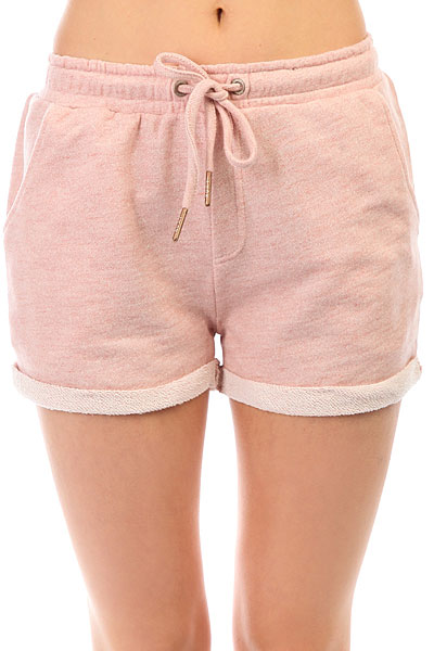 Шорты классические женские Roxy Trippinshort Rose Tan Heather шорты roxy шорты