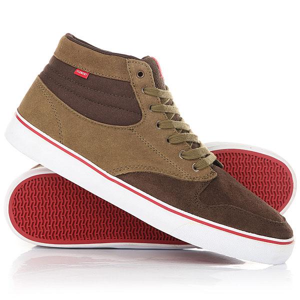 Кеды кроссовки высокие Element Topaz C3 Mid Expresso<br><br>Цвет: коричневый<br>Тип: Кеды высокие<br>Возраст: Взрослый<br>Пол: Мужской