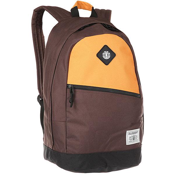 Рюкзак городской Element Camden Bpk Oak Yel Cof Brw<br><br>Цвет: коричневый,оранжевый<br>Тип: Рюкзак городской<br>Возраст: Взрослый<br>Пол: Мужской